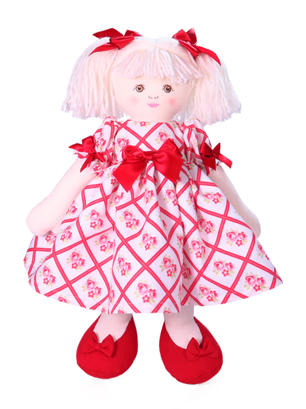 Cherie 39cm Rag Doll Designed by Kate Finn