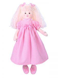 Susannah 47cm Rag Doll Pink by Kate Finn