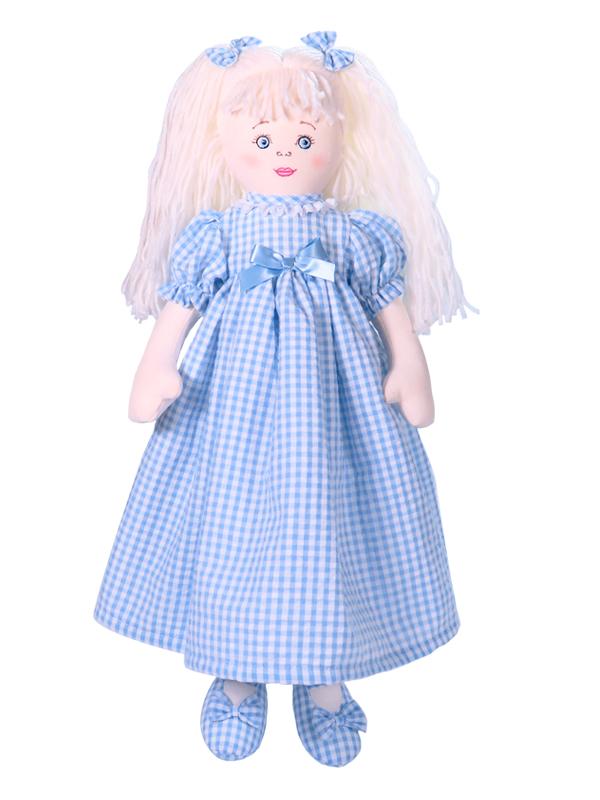 Susannah 47cm Rag Doll Blue by Kate Finn