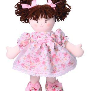 Rosie 28cm Rag Doll By Kate Finn