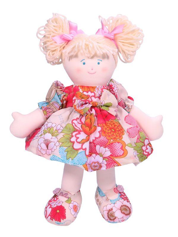 Evie 28cm Rag Doll Designed by Kate Finn
