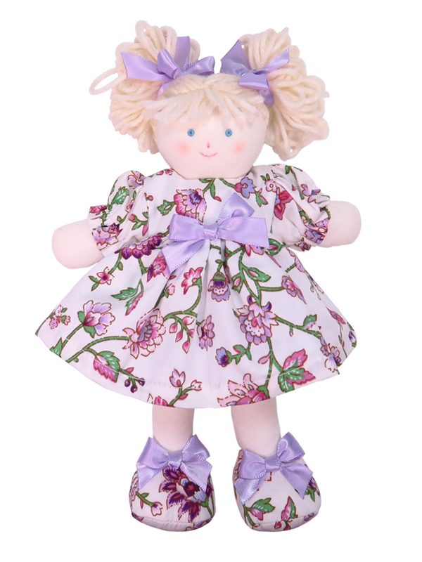 Mini Layla 21cm Rag Doll Designed by Kate Finn