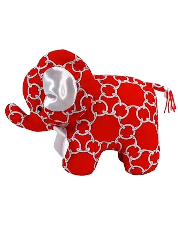Red Links Elephant Baby Toy