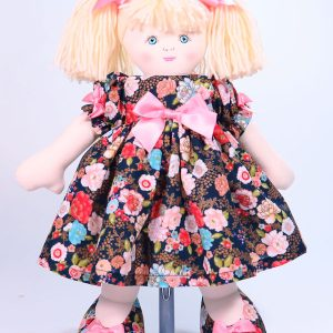 Petal 39cm Rag Doll Designed and Sold by Kate Finn Australia