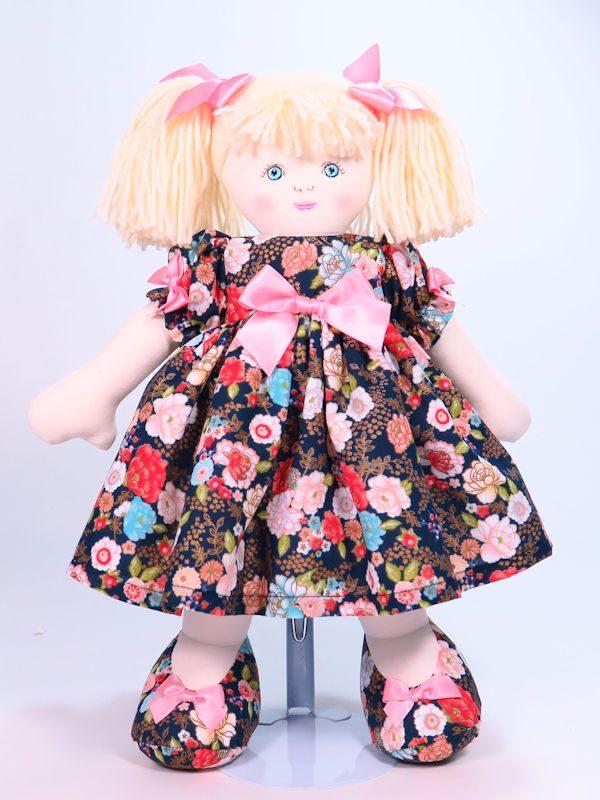 Petal 39cm Rag Doll Designed and Sold by Kate Finn Australia