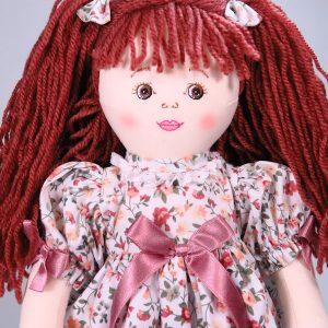 Flora 47cm Rag Doll Designed by Kate Finn