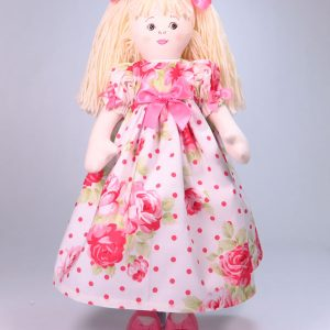 Allyson 47cm Rag Doll Sold by Kate Finn Australia