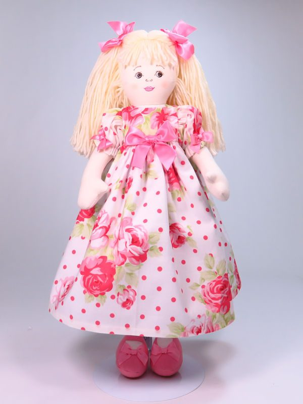 Allyson 47cm Rag Doll Sold by Kate Finn Australia
