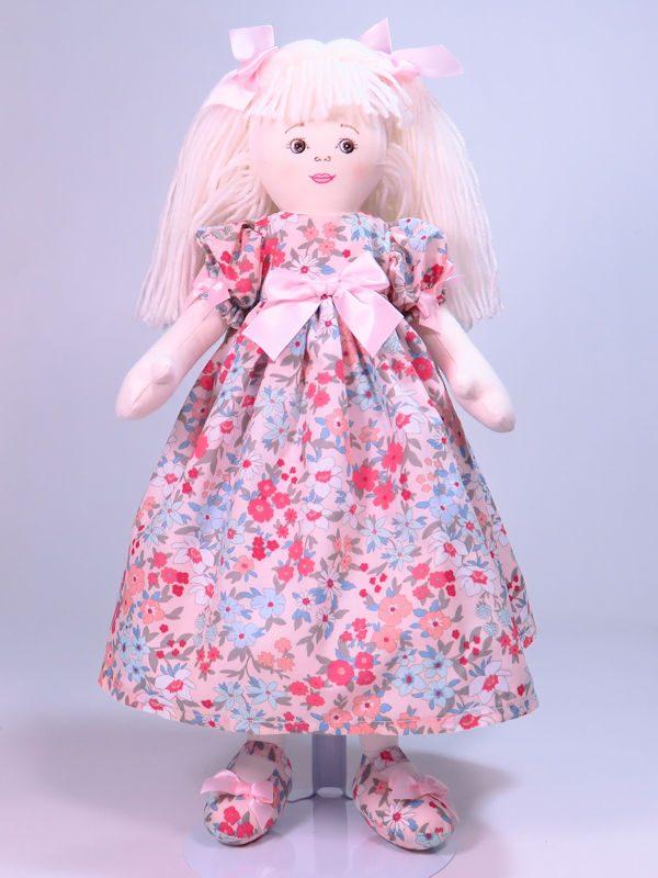 Paulette 47cm Rag Doll Designed and Sold by Kate Finn Australia