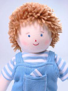 Jamie 28cm Rag Doll Designed and Sold by Kate Finn Australia
