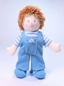 Jamie 28cm Rag Doll by Kate Finn Australia