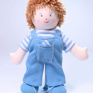 Jamie 28cm Rag Doll by Kate Finn Australia