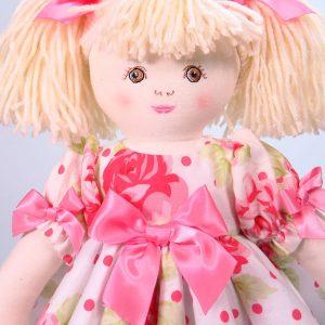 Ava 39cm Rag Doll Designed by Kate Finn Australia