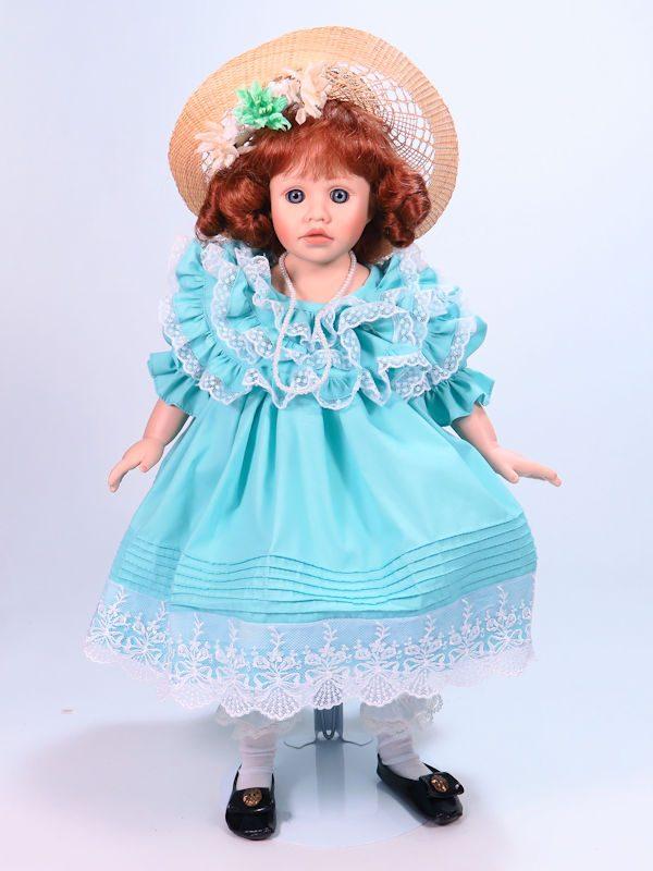 Margaret 45cm Porcelain Doll by Pauline Bjonness-Jacobsen