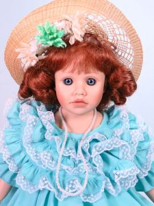 Margaret 45cm Porcelain Doll Limited Edition by Pauline