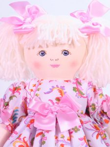 Lily 39cm Rag Doll Designed by Kate Finn