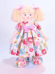 Matilda 39cm Rag Doll Blond Designed and Sold by Kate Finn Australia
