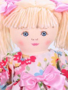Matilda 39cm Rag Doll Blond Designed by Kate Finn