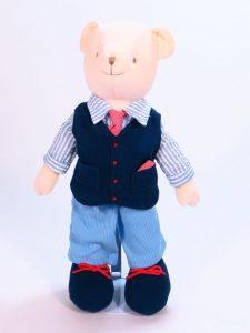 Barney 41cm Bear Designed and Sold by Kate Finn Australia