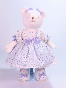 Daisy 41cm Bear designed and Sold by Kate Finn Australia