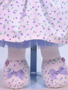 Daisy 41cm Bear Lavender Tulle Petticoats