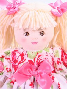 Valentina 39cm Rag Doll Designed by Kate Finn