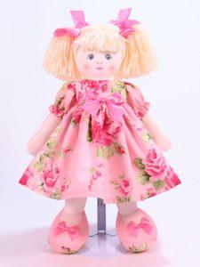 Emily 39cm Rag Doll Designed and Sold by Kate Finn Australia