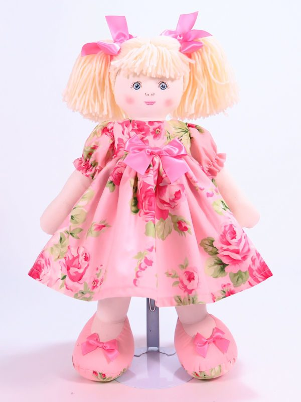 Emily 39cm Rag Doll Designed and Sold by Kate Finn Australia