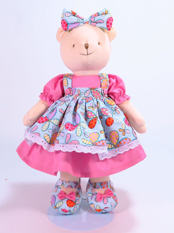 Twirl 41cm Bear Designed and Sold by Kate Finn Australia