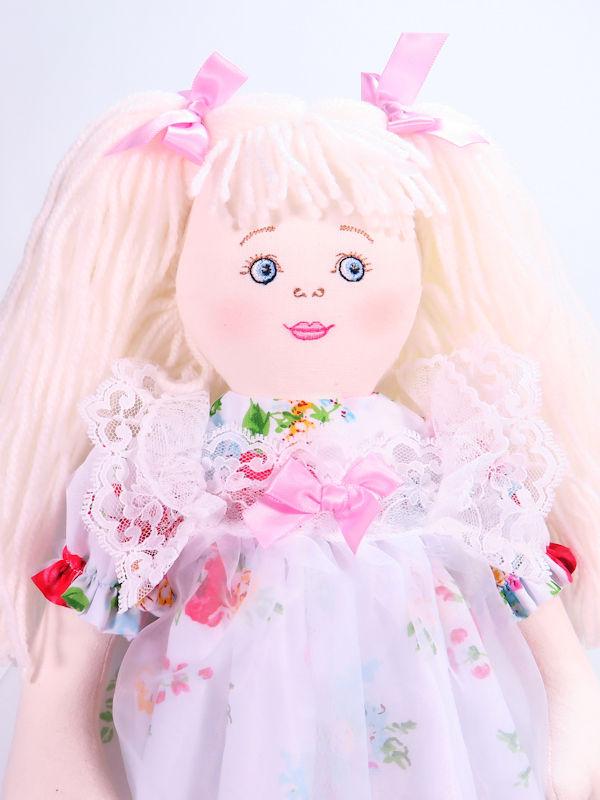 Cherie 47cm rag Doll Sold by Kate Finn Australia