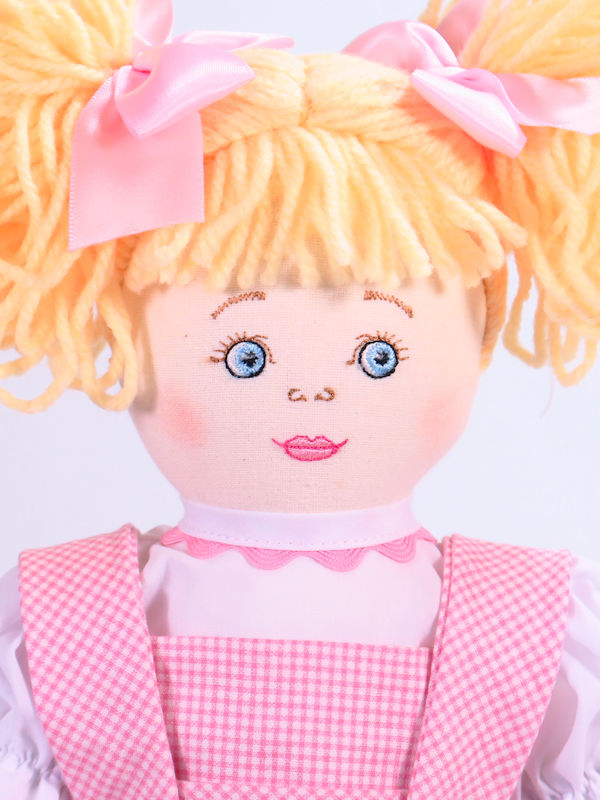 Goldilocks 47cm Rag Doll By Kate Finn