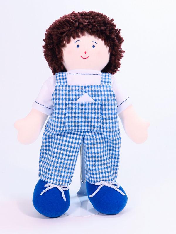 Joey 28cm Rag Doll by Kate Finn