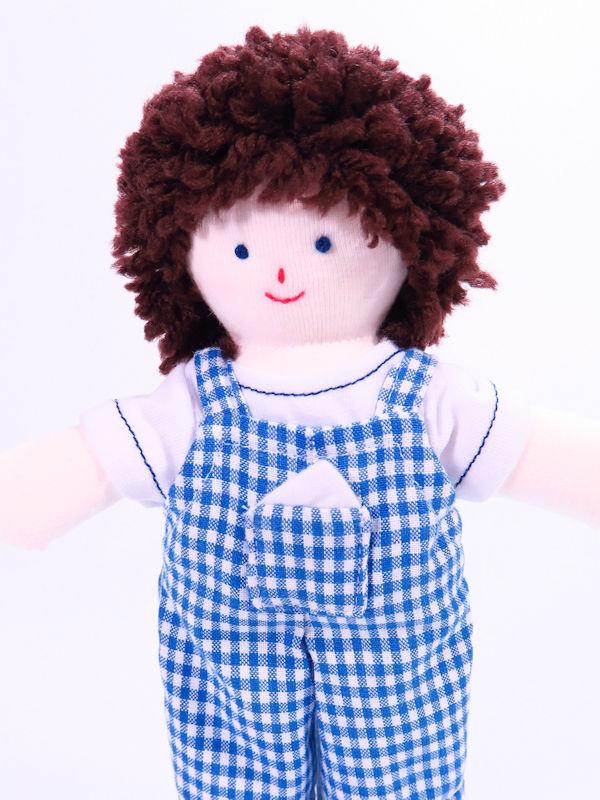 Mini Jo 21cm Rag Doll by Kate Finn