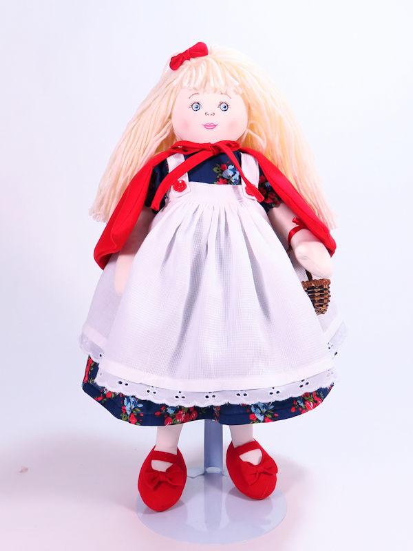 Red Riding Hood 47cm Rag Doll