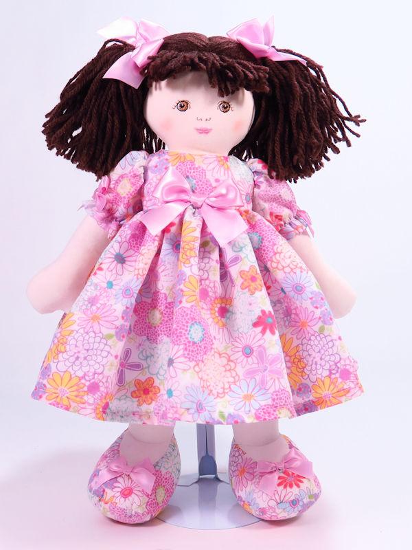 Julia 39cm Rag Doll Brunette