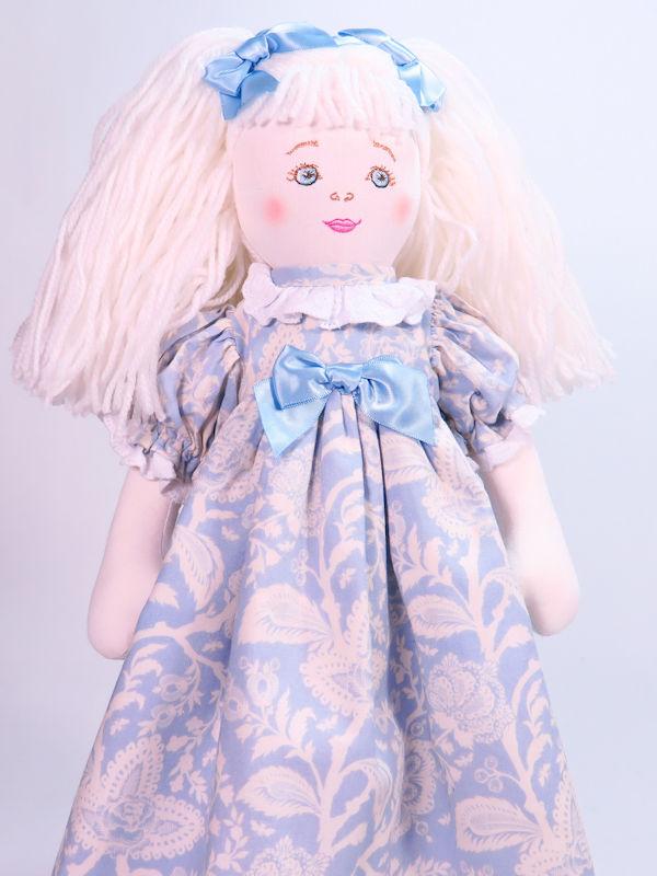 Yvette 47cm Rag Doll by Kate Finn