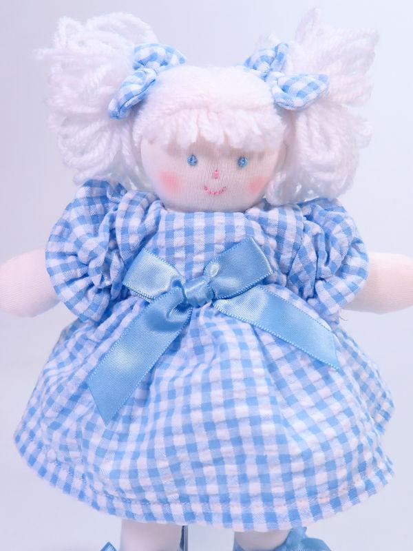 Mini Betty 21cm Rag Doll by Kate Finn