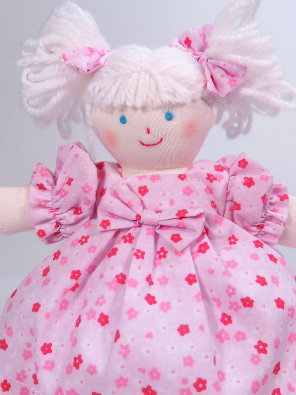Mini Mary Jane 21cm Rag Doll by Kate Finn