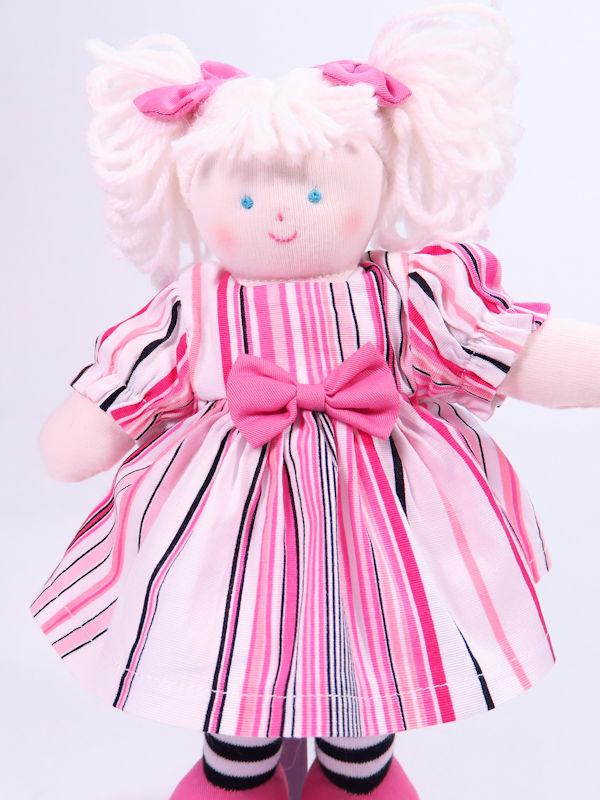 Mini Philly 21cm Rag Doll by Kate Finn