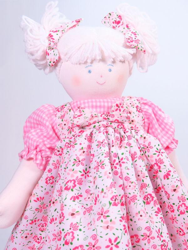 Claudia 39cm Rag Doll by Kate Finn Australia